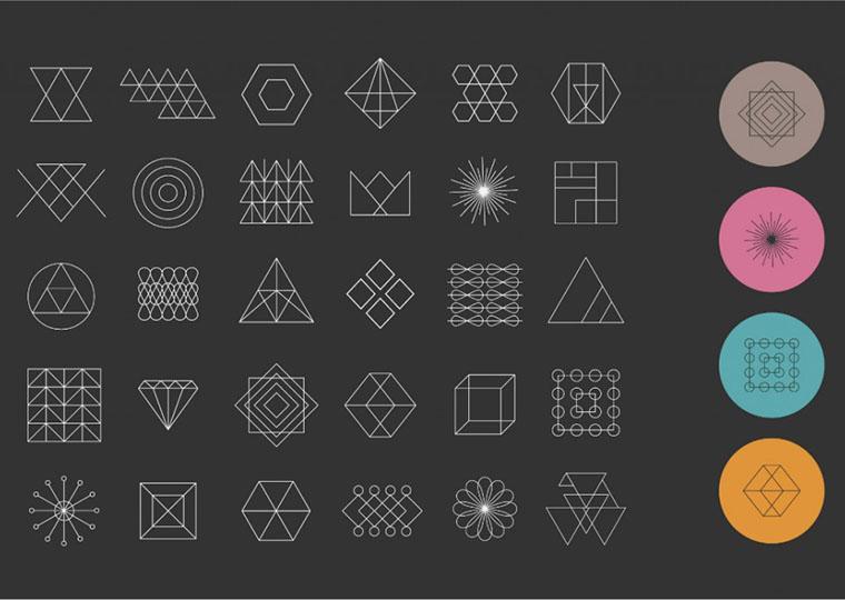 اینفوگرافیک: تأثیر اشکال بر احساسات منتقل شده توسط لوگو
