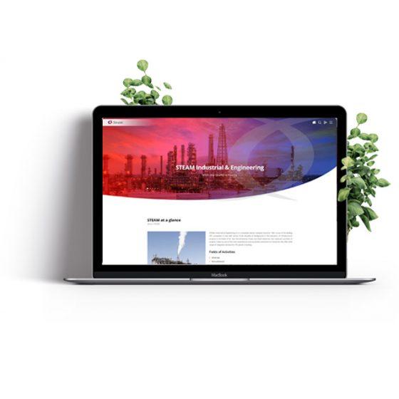 طراحی-سایت-استیم