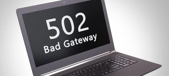 خطای Bad Gateway 502
