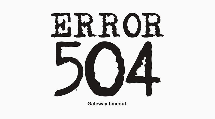 خطای 504 Gateway Timeout