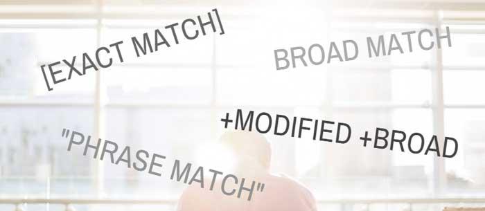 کلمات کلیدی در تبلیغات گوگلی