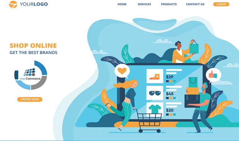 قالب-فروشگاه-اینترنتی
